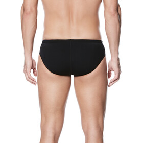 Nike Swim Poly Color Surge Brief Men Black